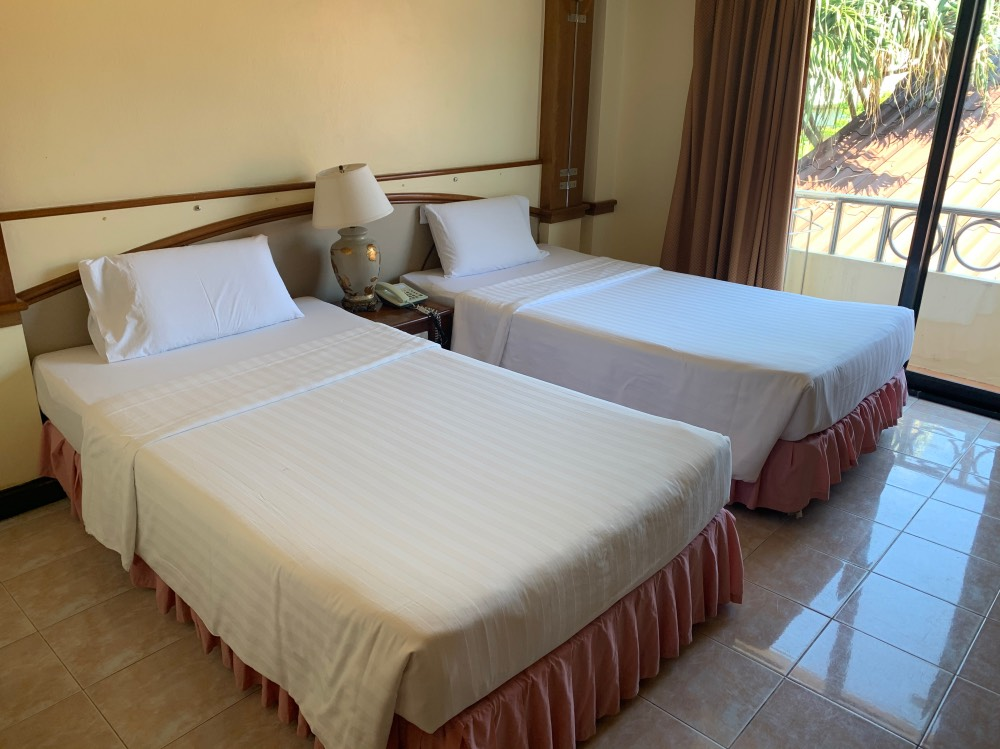 Nuestra habitación del hotel en las Phi Phi