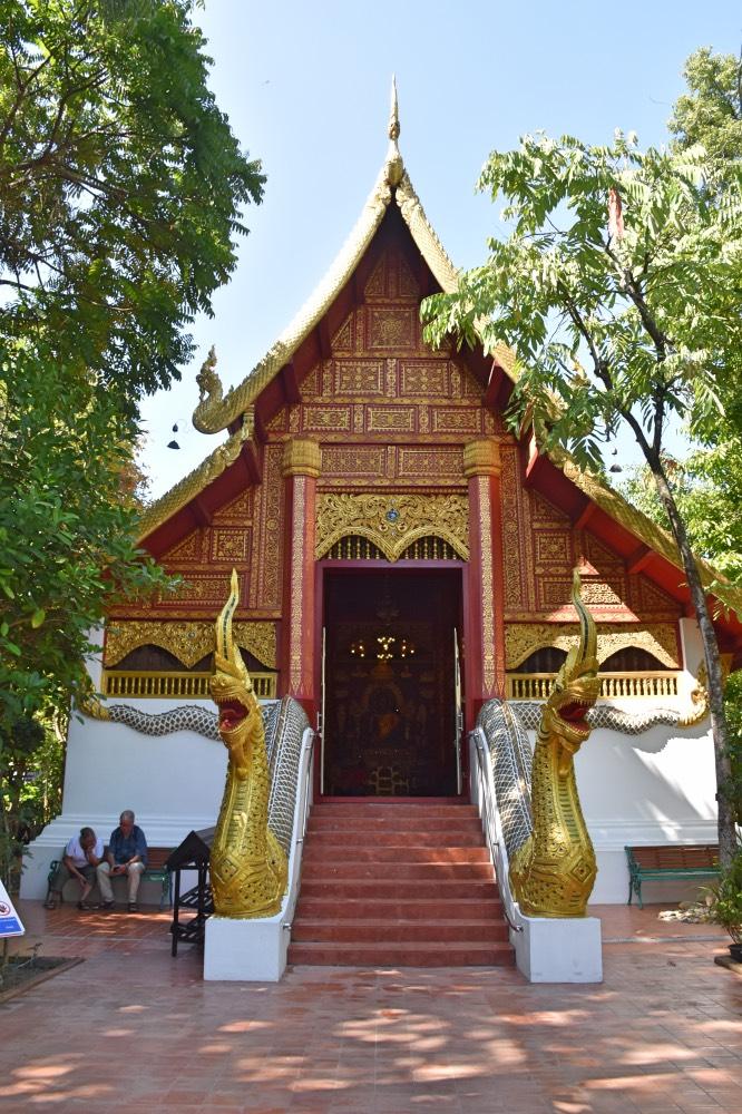 Wat Phra Kaew, uno de los templos más importantes de Chiang Rai