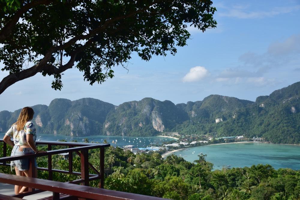 El mirador nº3 es el más panorámico de Koh Phi Phi
