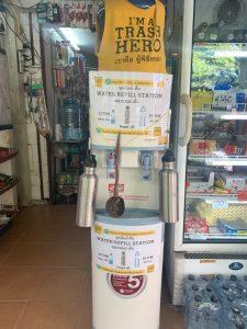 Dispensador de agua de Trash Hero