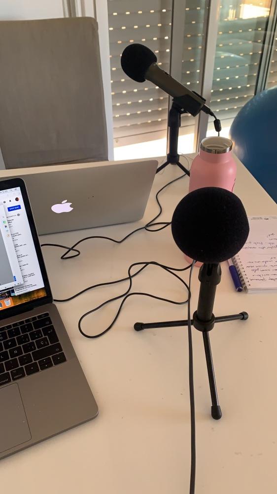 Mi equipo de Podcast: los micrófonos y el ordenador