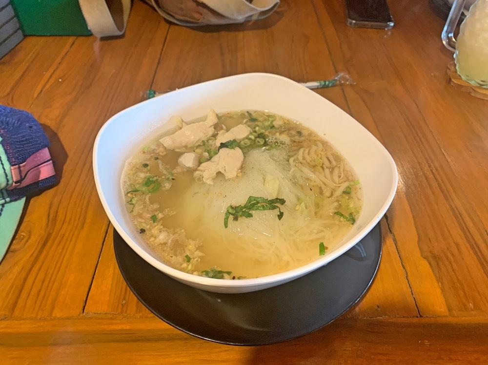 Sukhothai Noodles en el restaurante Poo