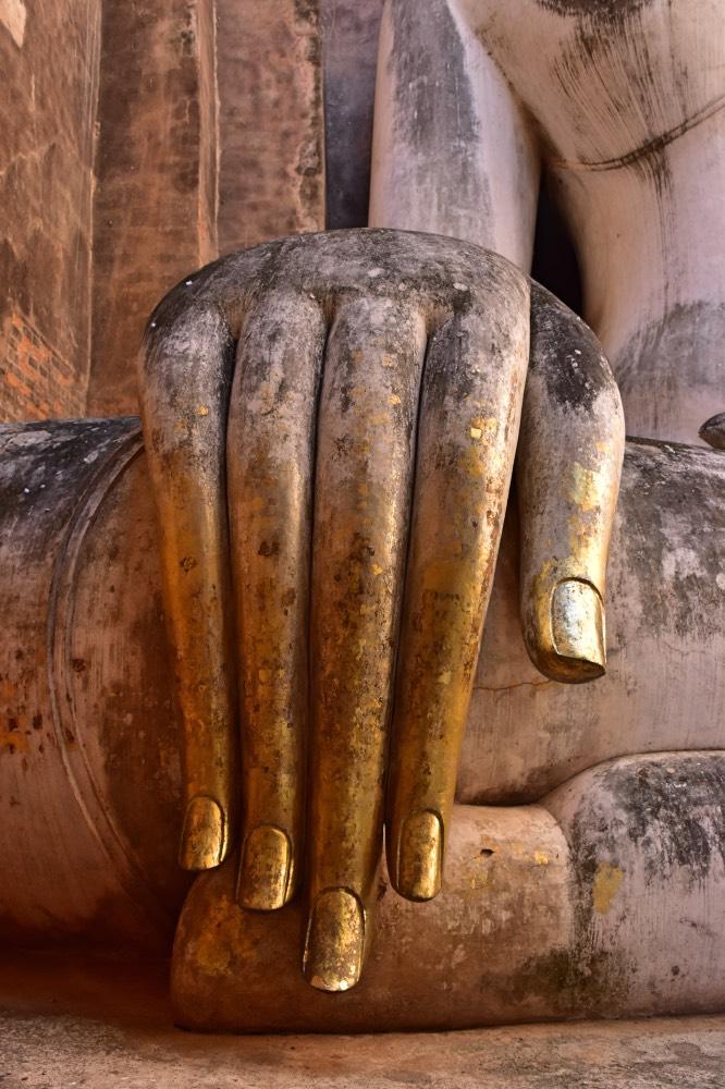 La mano del Buda delWat Si Chum