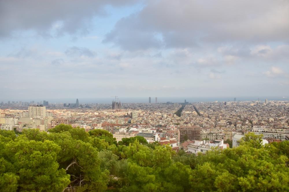 Los mejores miradores de Barcelona: Turó de les Tres Creus