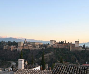 Las vistas desde el Mirador de la Placeta de los Carvajales en Granada