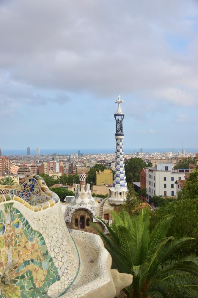 Mejores edificios de Gaudí en Barcelona: vistas de Barcelona