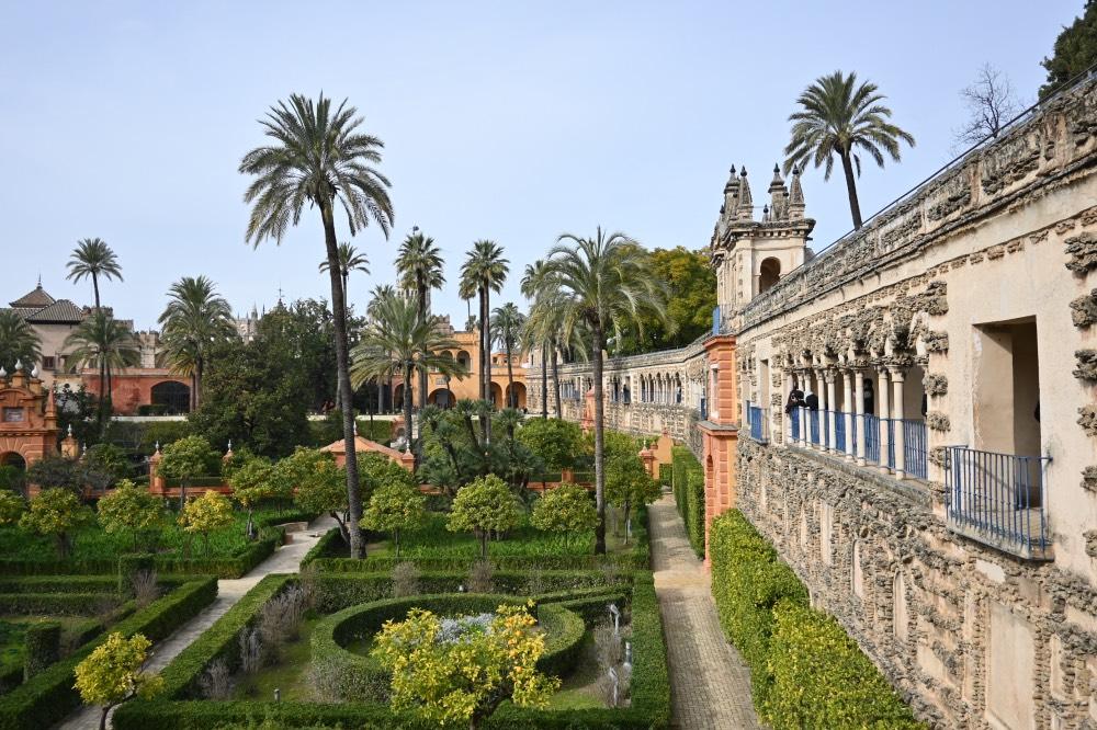 Una semana en Andalucía: Los jardines del Real Alcázar de Sevilla