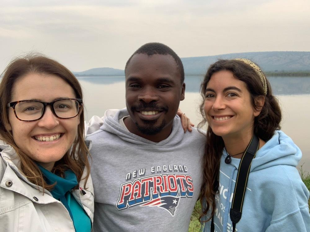 selfie con Ali y Andrea.
