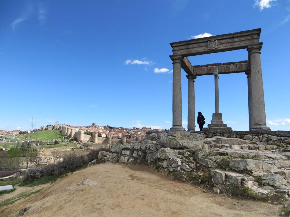 Ávila desde el mirador de lso 4 postes