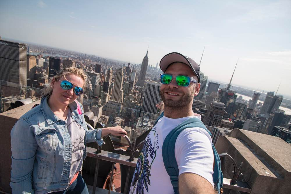 Cómo ser 'youtubers' de viaje: Adri y Gosi en Nueva York