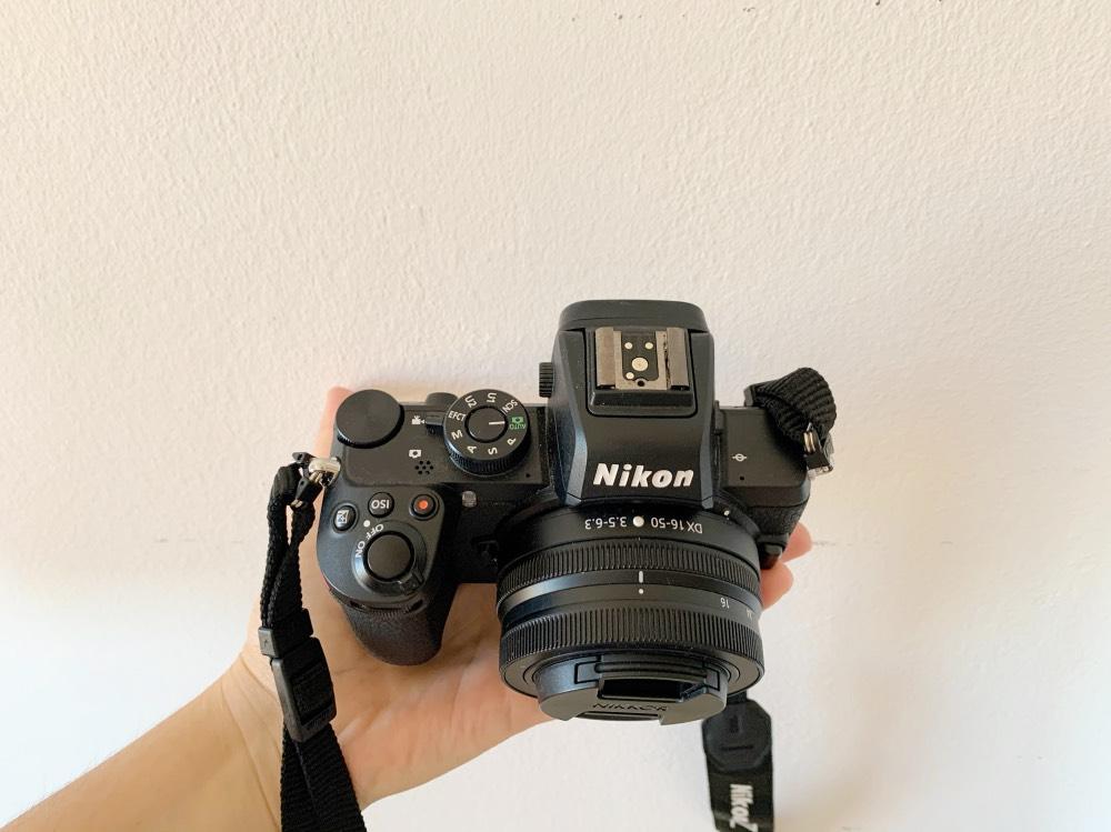 Mi equipo fotográfico: imagen de mi cámara Nikon Z50