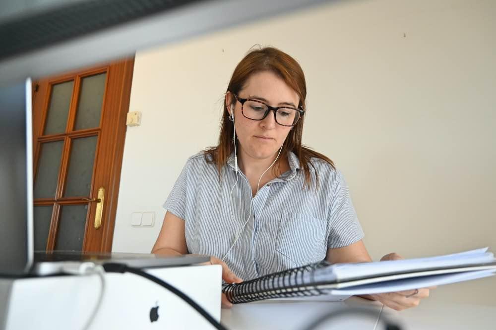 Vivir del blog: trabajando frente al ordenador