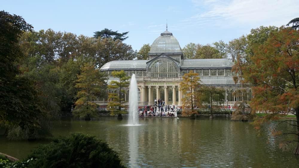 Madrid en 3 días: El Palacio de Cristal en el Parque del Retiro