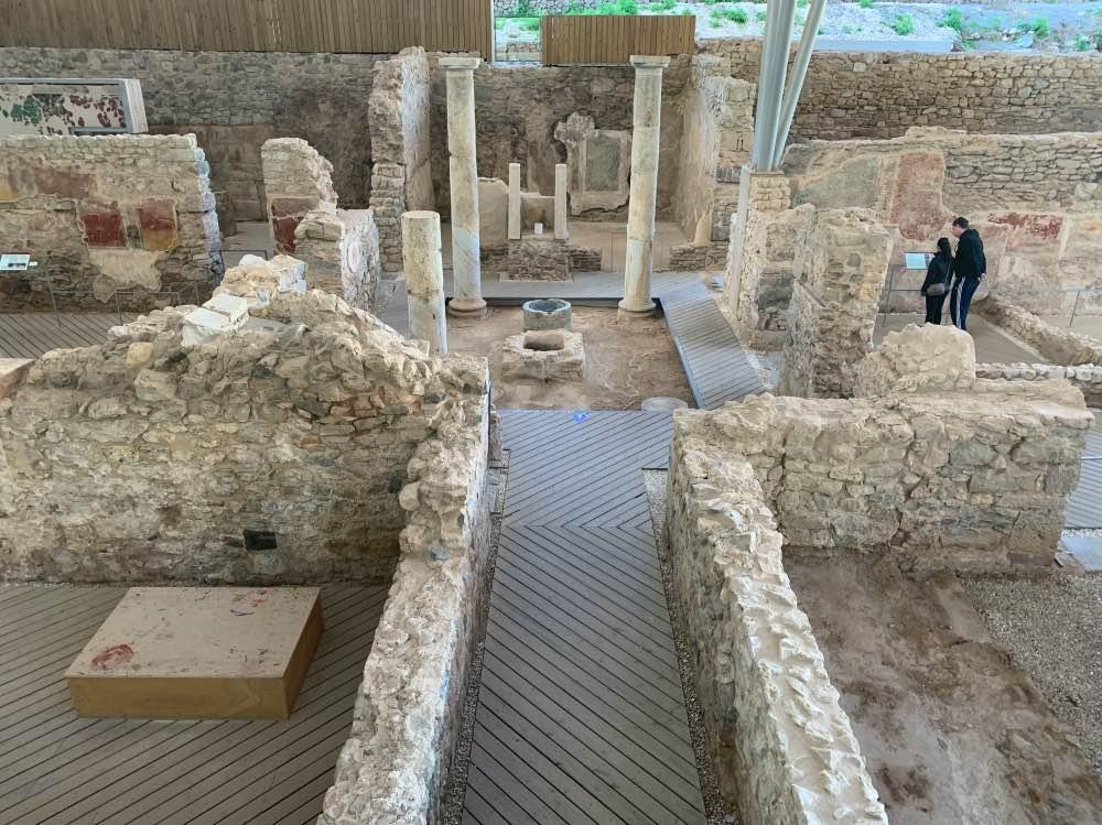 Los restos arqueológicos del Foro Romano de Cartagena