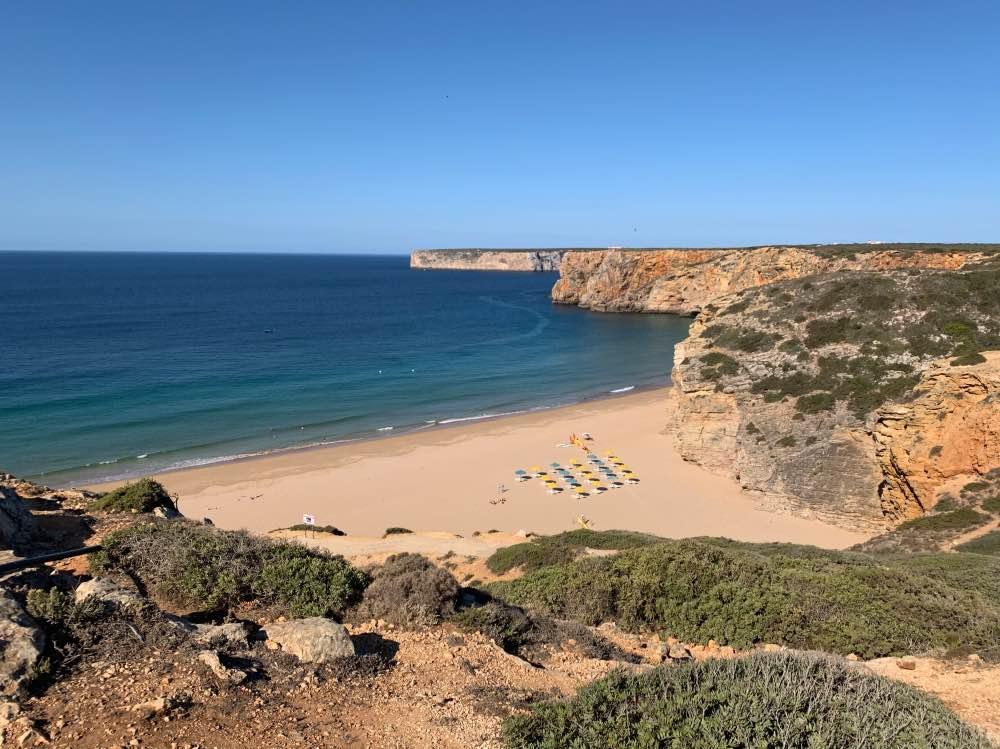 La Praia do Beliche, para nosotros una de las mejores playas del Algarve sin lugar a dudas.