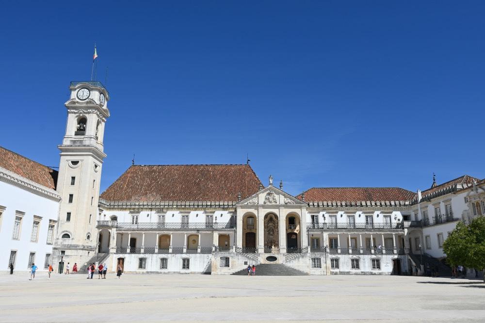 Edificio de la Universidad de Coímbra.