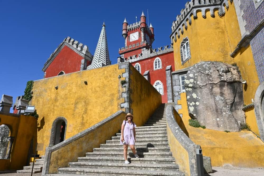 Qué hacer en Sintra: El Palacio da Pena y sus coloridos edificios