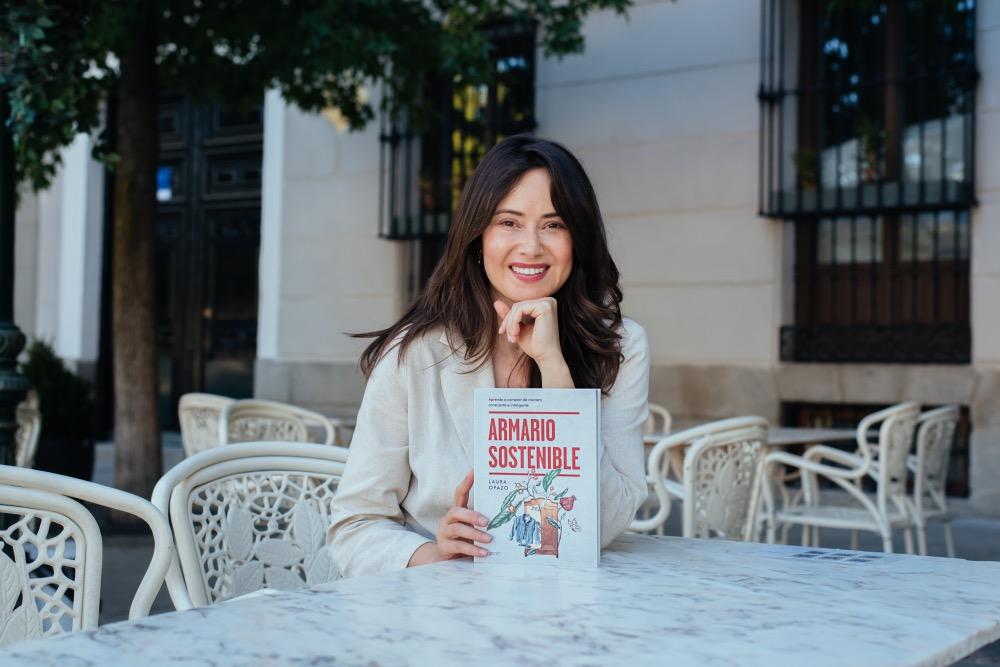 Laura Opazo y su libro, 'Armario Sostenible'
