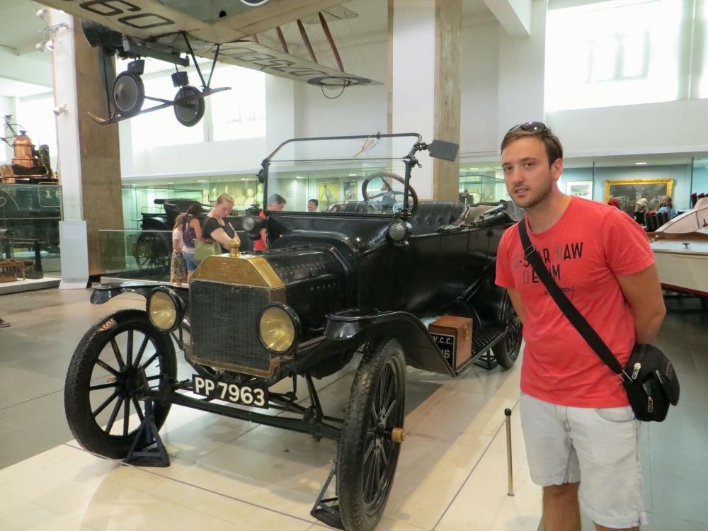 En el museo de la ciencia de Londres