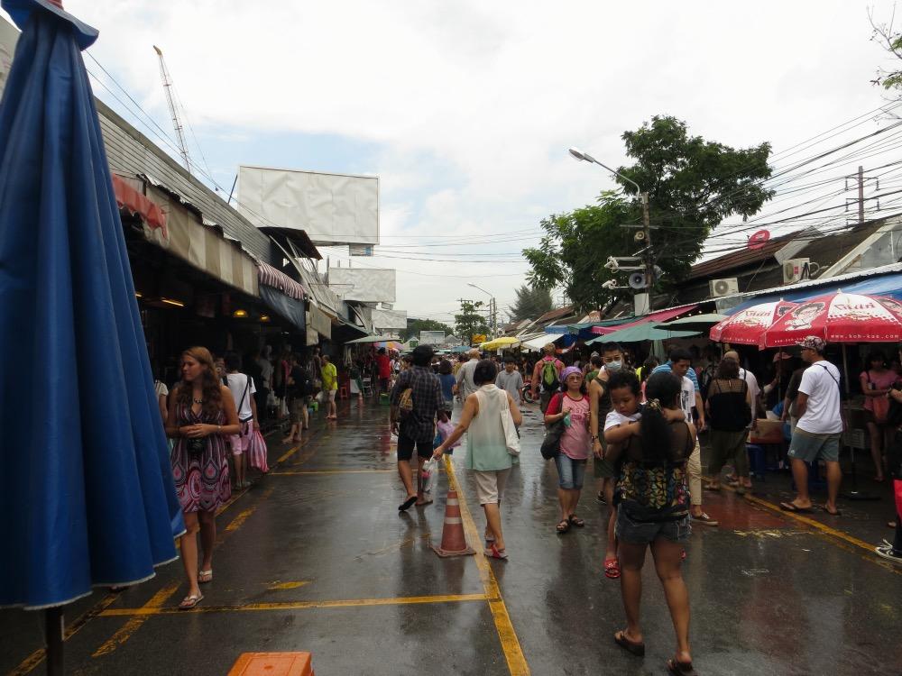 En el mercado de Chatuchak