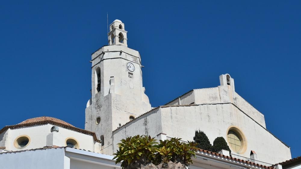 La iglesia de Santa María de Cadaqués